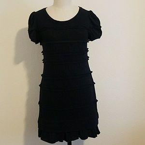 EUC Marc Jacobs Black Lace Shift Dress